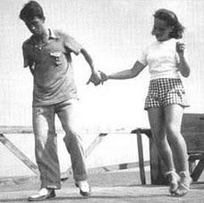 teenagers dancing Carolina Shag