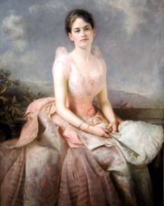 juliette gordon low pink dress