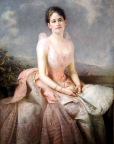 juliette gordon low pink dress