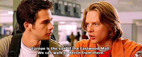 Fun fact: when I finally saw Eurotrip at age 23, my adolescent experience made SO MUCH MORE SENSE.