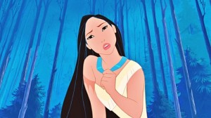 Pocahontas doesn't understand what appropriating her culture has to do with family bonding.