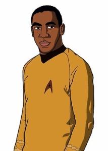 black Captain Kirk