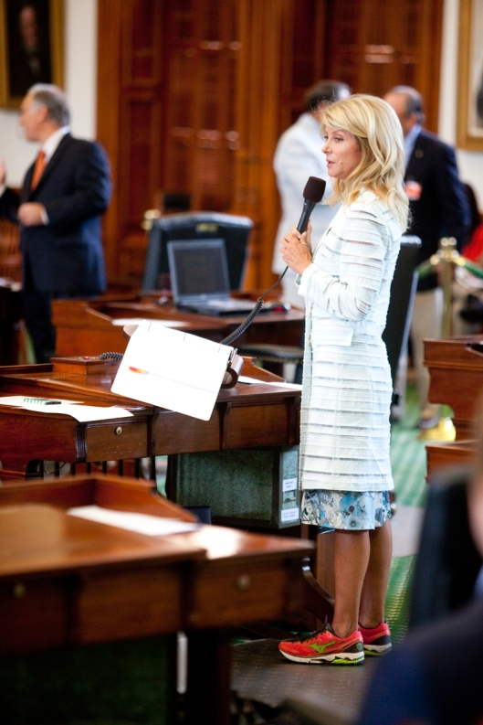 Wendy Davis, the Lebron James of filibustering