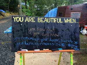 You Are Beautiful When...