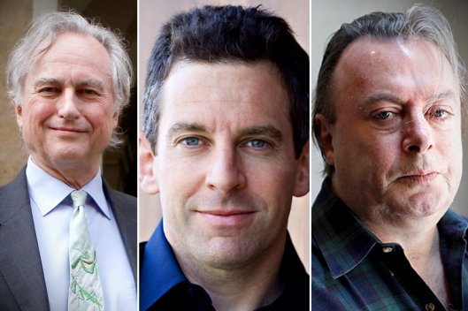 Richard Dawkins, Sam Harris, and Christopher Hitchens