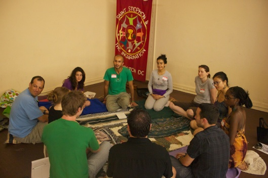 Deep breathing for clarity, strength, and peace at SHARE Fair 2012