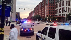 Police respond to navy yard shooting in Washington DC
