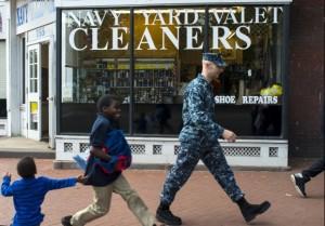 navy yard shutdown