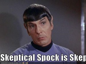 spock from star trek looking skeptical