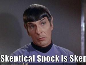 spock from star trek looking skeptical