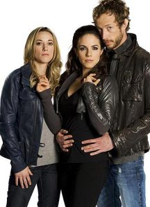 Bo, Lauren, and Dyson, the central should-be-a-goddamn-V of Lost Girl.