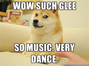 Oh Glee, why must you be so music and so suck?