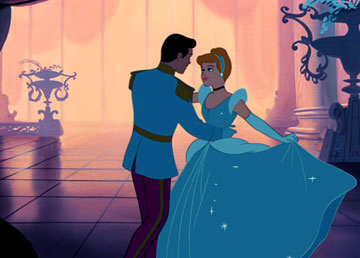 Disney love hardly requires that you know each other! How romantic!