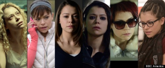 Tatiana Maslany as six clones