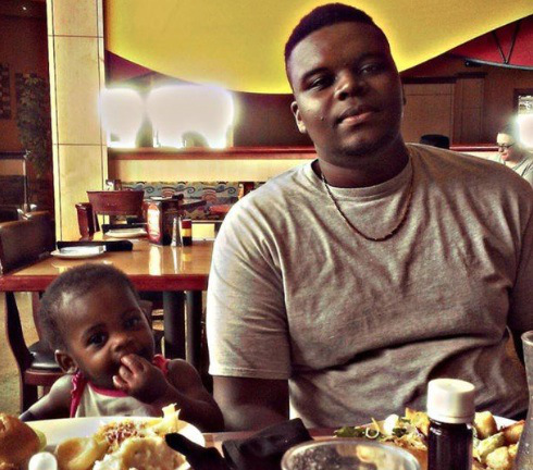 This is Michael Brown. He was 18 years old when he was murdered by Officer Darren Wilson.